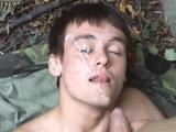 un duro entrenamiento militar