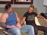 hombres grandes follando