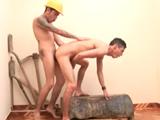 obreros follando