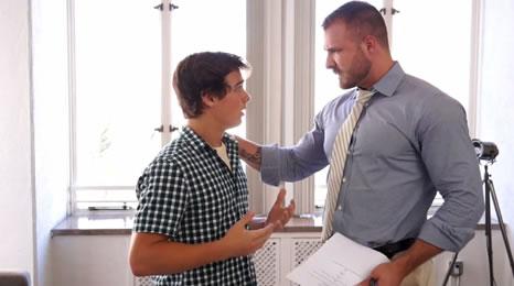 ¿Estás seguro de que quieres el trabajo muchacho?